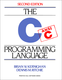 Cover photo for the book, The C Programming language